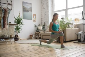 yoga at home with GLo