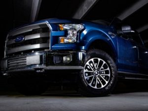 blue Ford F-150